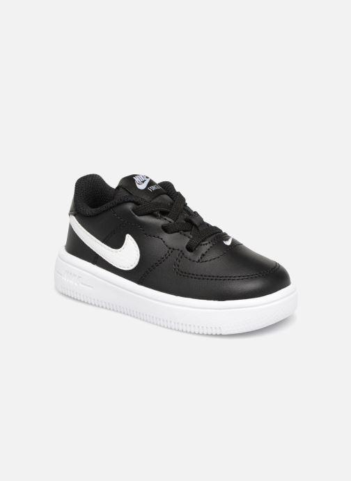 Deportivas Nike Force 1 '18 (Td) Negro vista de detalle / par