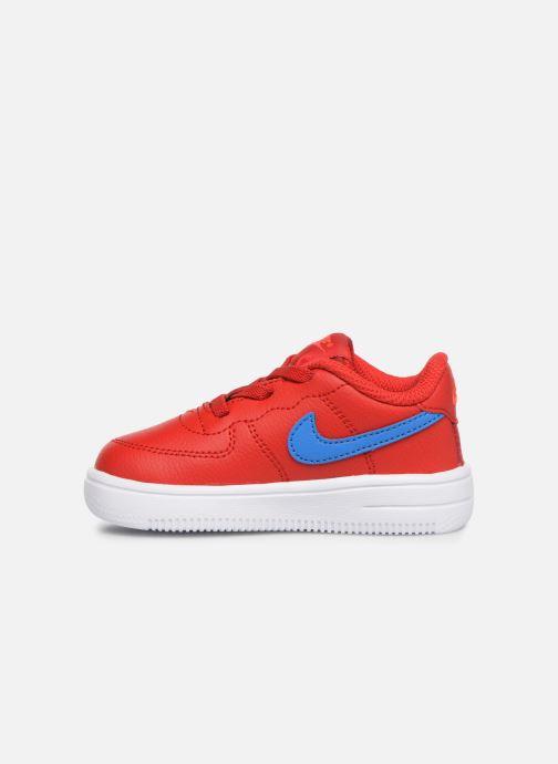 Baskets Nike Force 1 '18 (Td) Rouge vue face