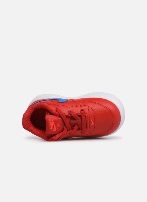 Baskets Nike Force 1 '18 (Td) Rouge vue gauche