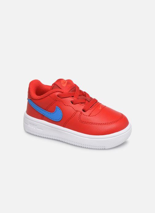 Baskets Nike Force 1 '18 (Td) Rouge vue détail/paire