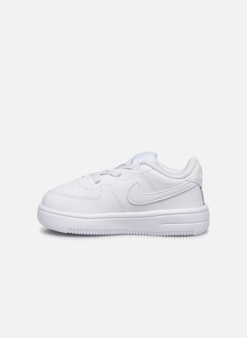 Baskets Nike Force 1 '18 (Td) Blanc vue face