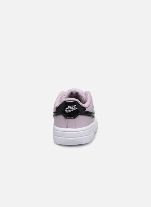Trainers Nike Force 1 '18 (Td) Pink view from the right