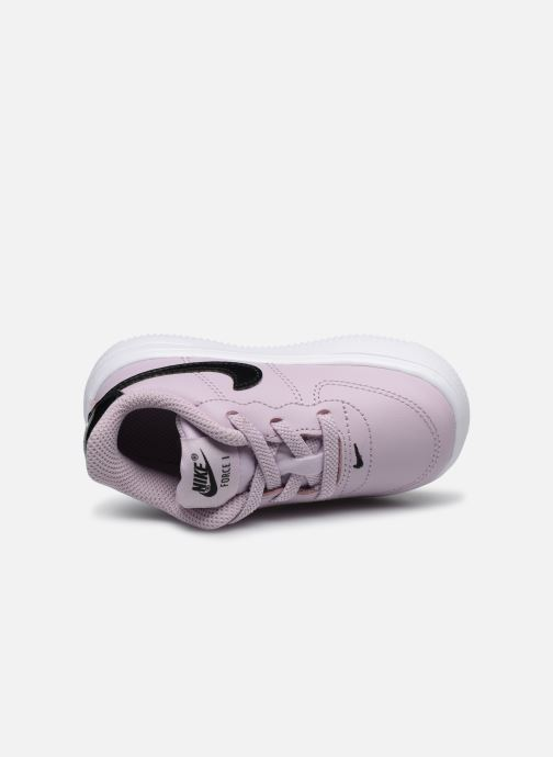 Trainers Nike Force 1 '18 (Td) Pink view from the left