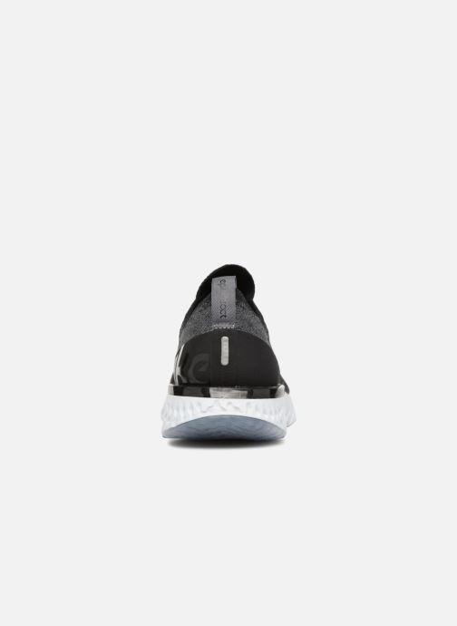 Sportschuhe Nike Nike Epic React Flyknit (Gs) schwarz ansicht von rechts