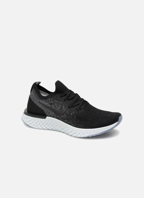 Sportschoenen Nike Nike Epic React Flyknit (Gs) Zwart detail