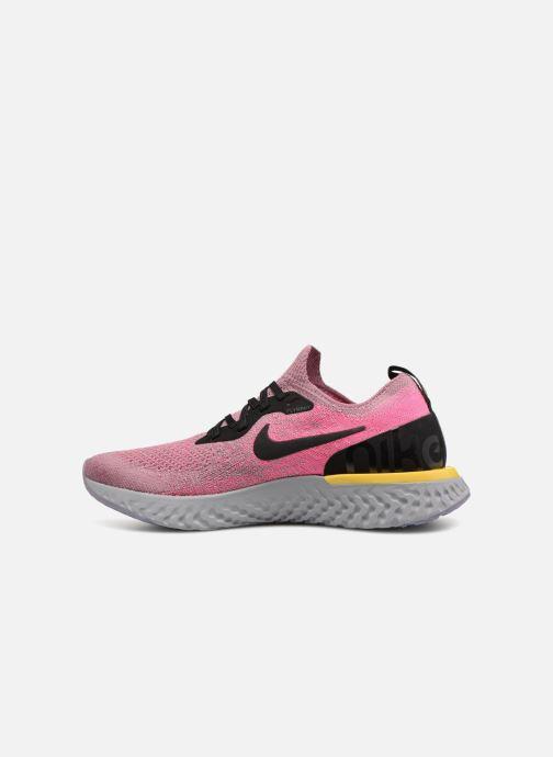 Zapatillas de deporte Nike Nike Epic React Flyknit (Gs) Gris vista de frente
