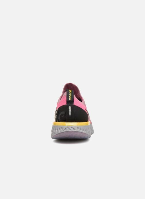 Zapatillas de deporte Nike Nike Epic React Flyknit (Gs) Gris vista lateral derecha