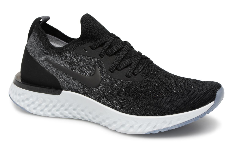 Sportschuhe Nike Nike Epic React Flyknit (Gs) schwarz detaillierte ansicht/modell