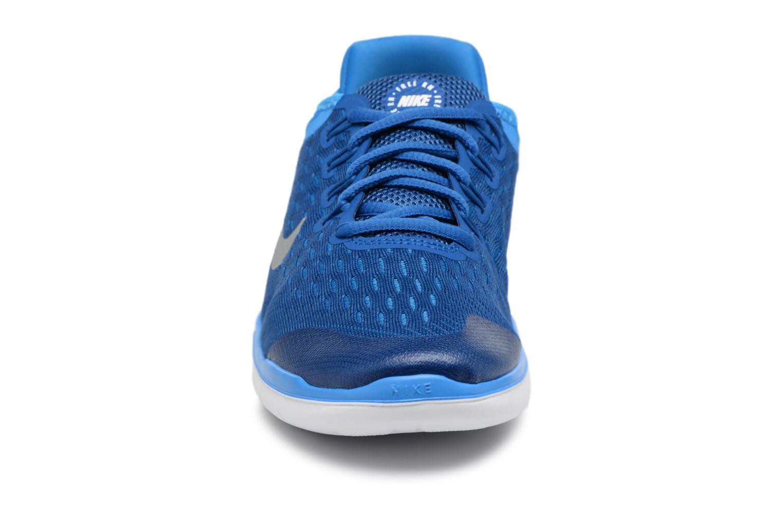 Sportschuhe Nike Nike Free Rn 2018 (Gs) blau schuhe getragen