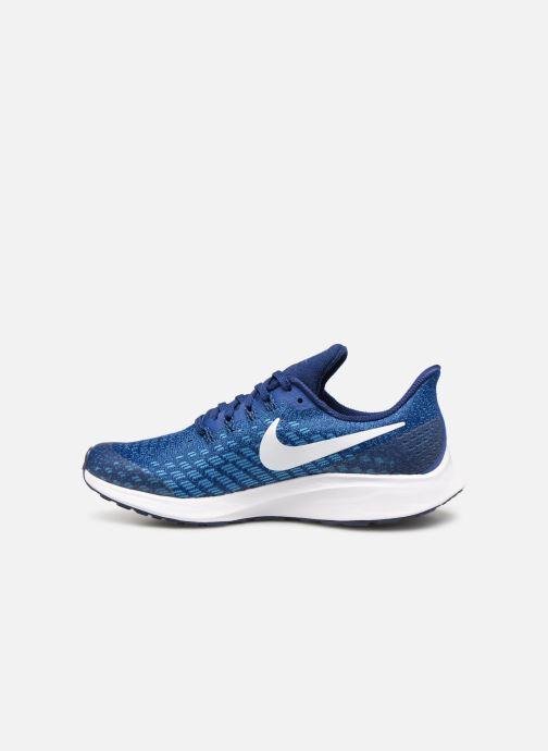 Sportschuhe Nike Nike Air Zoom Pegasus 35 (Gs) blau ansicht von vorne