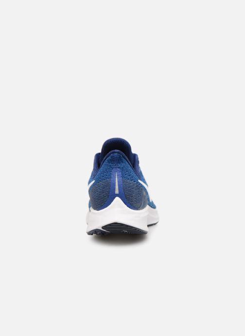 Sportschuhe Nike Nike Air Zoom Pegasus 35 (Gs) blau ansicht von rechts