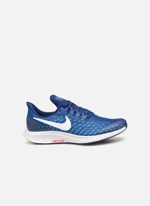 Sportschuhe Nike Nike Air Zoom Pegasus 35 (Gs) blau ansicht von hinten
