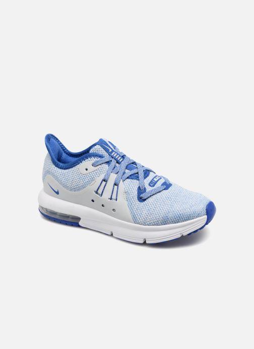 wholesale dealer fc61a 2b508 Deportivas Nike Nike Air Max Sequent 3 (Ps) Azul vista de detalle / par