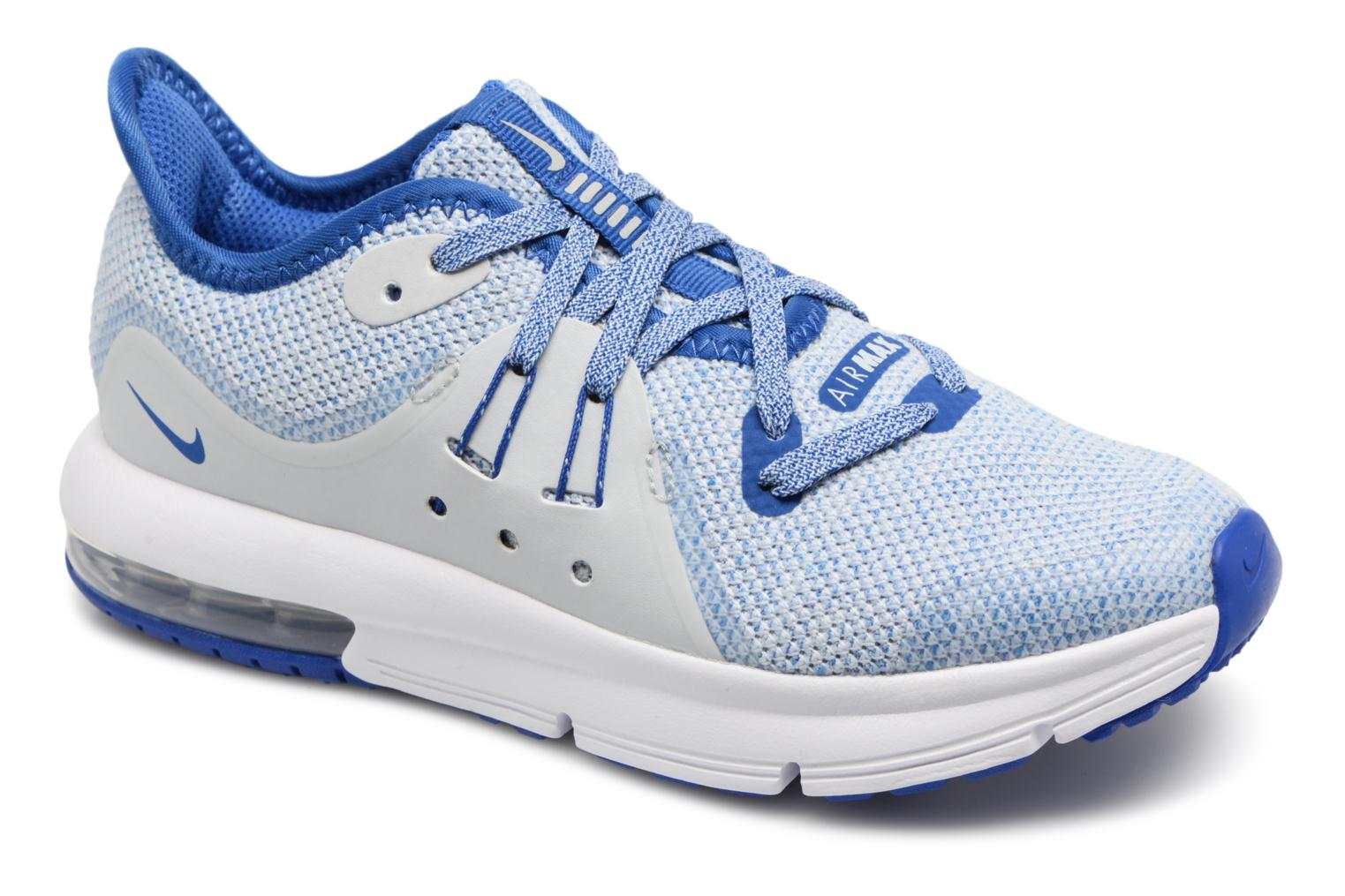 Nike Nike Air Max Sequent 3 (Ps) (Bleu) Baskets chez Sarenza (328360)