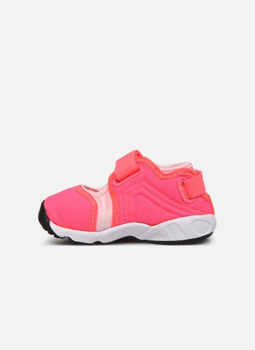Sandalias Nike Little Rift (Td) Rosa vista de frente