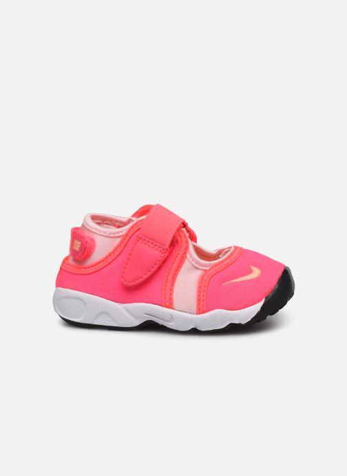 Sandales et nu-pieds Nike Little Rift (Td) Rose vue derrière