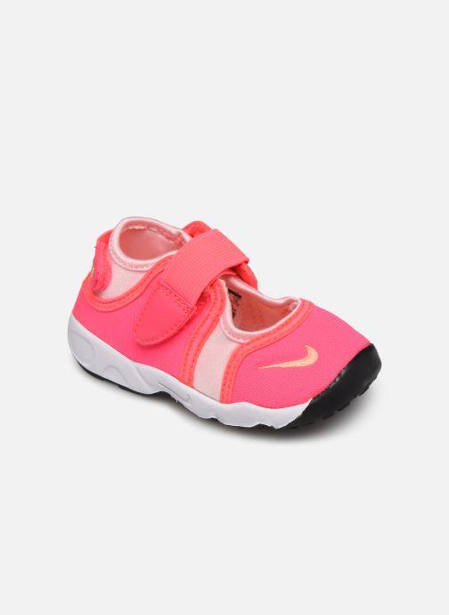 Sandalias Nike Little Rift (Td) Rosa vista de detalle / par