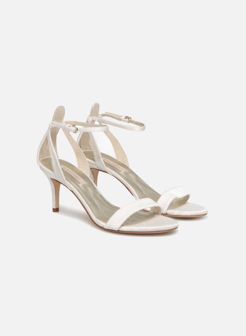 Sandales et nu-pieds Pura Lopez Sandale mariée 2 Blanc vue 3/4