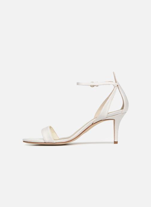 Sandales et nu-pieds Pura Lopez Sandale mariée 2 Blanc vue face