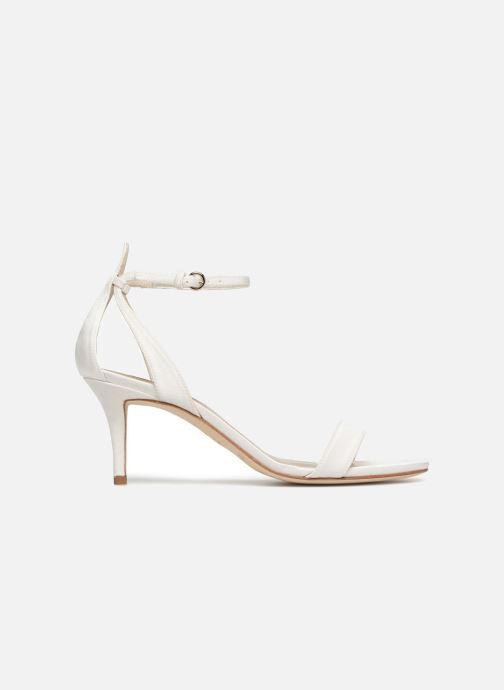 Sandales et nu-pieds Pura Lopez Sandale mariée 2 Blanc vue derrière