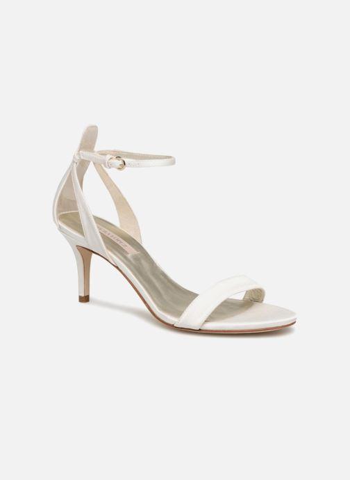Sandales et nu-pieds Pura Lopez Sandale mariée 2 Blanc vue détail/paire