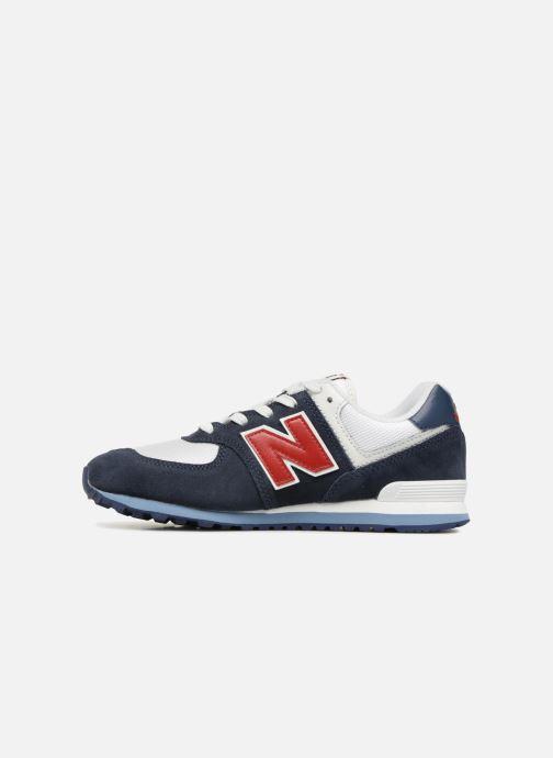 Baskets New Balance GC574 Bleu vue face