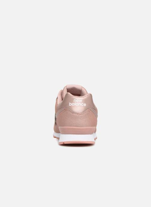 Sneaker New Balance GC574 rosa ansicht von rechts