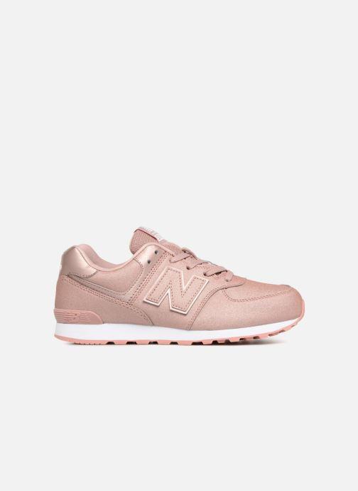 Sneaker New Balance GC574 rosa ansicht von hinten
