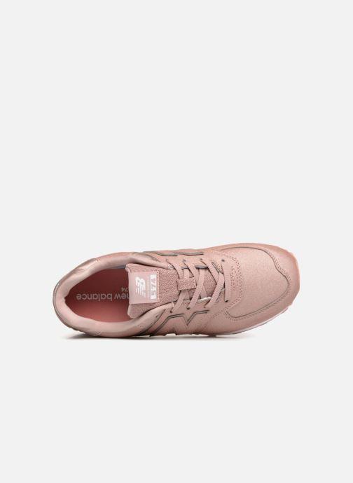 Sneaker New Balance GC574 rosa ansicht von links
