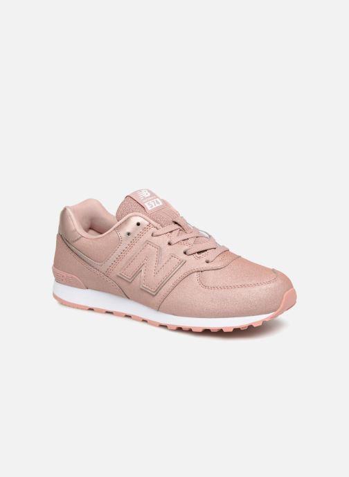 Sneaker New Balance GC574 rosa detaillierte ansicht/modell