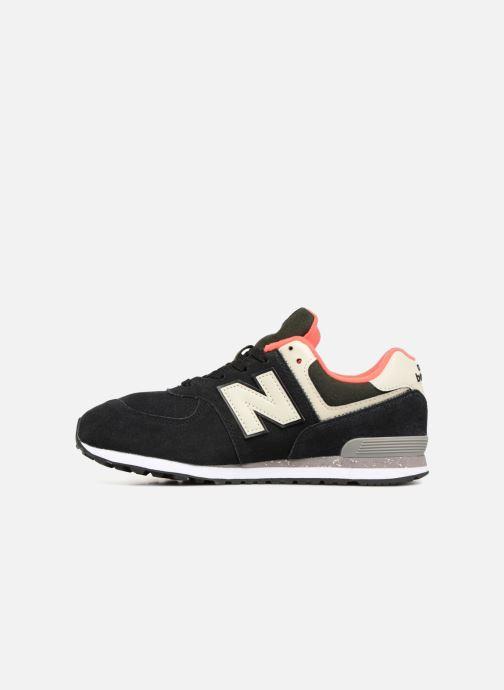 Baskets New Balance GC574 Noir vue face