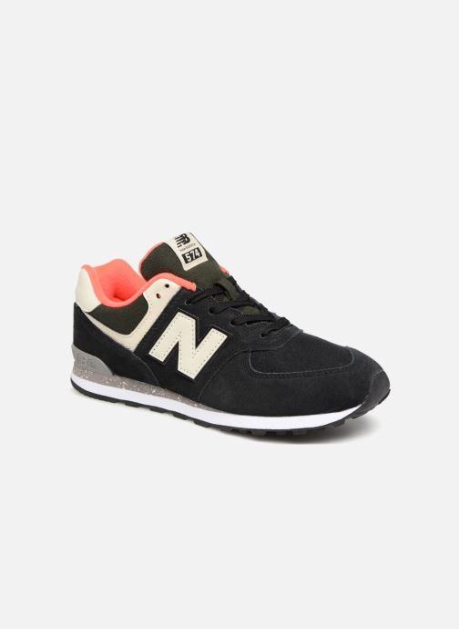 Baskets New Balance GC574 Noir vue détail/paire
