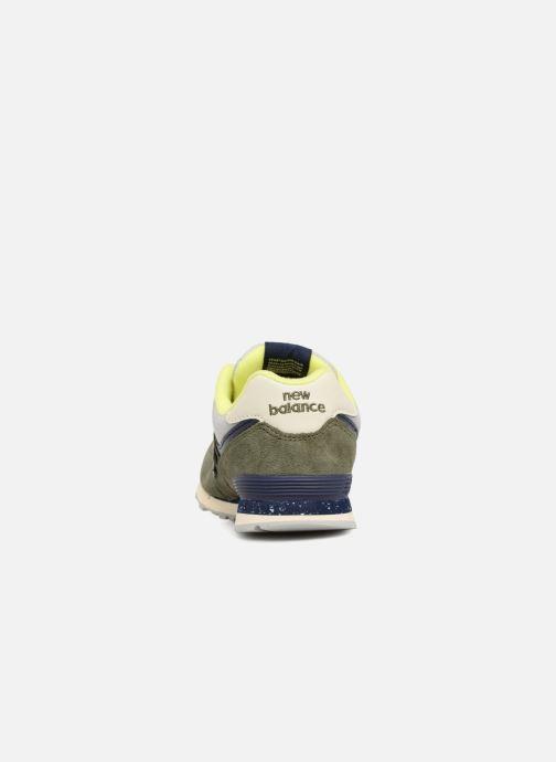 Baskets New Balance GC574 GV Vert vue droite