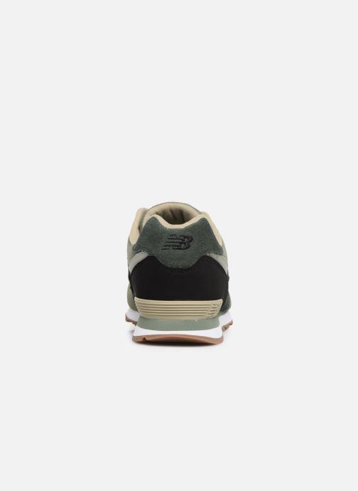 Baskets New Balance GC574 Vert vue droite