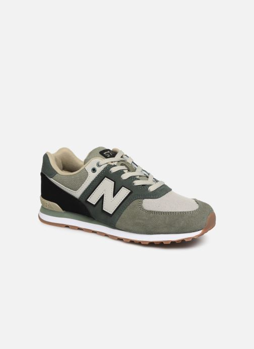 Trainers New Balance GC574 Green detailed view/ Pair view