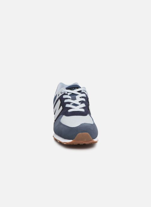 Trainers New Balance GC574 Blue model view