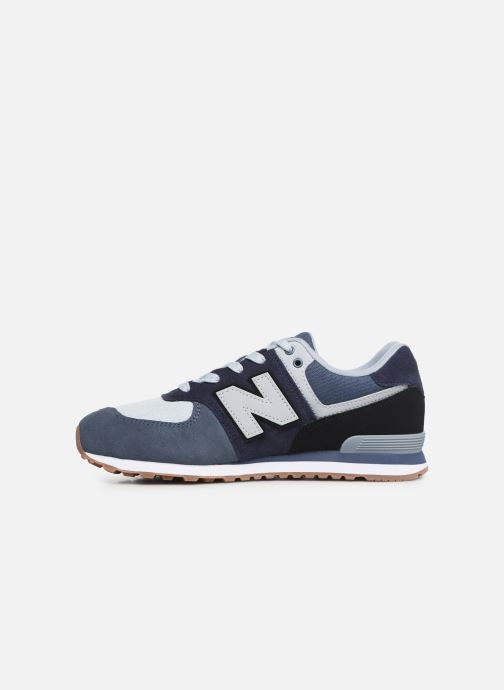 Trainers New Balance GC574 Blue front view