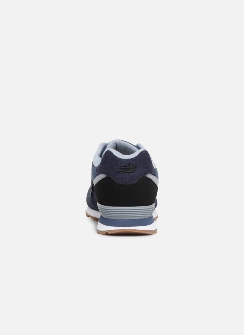 Baskets New Balance GC574 GV Bleu vue droite
