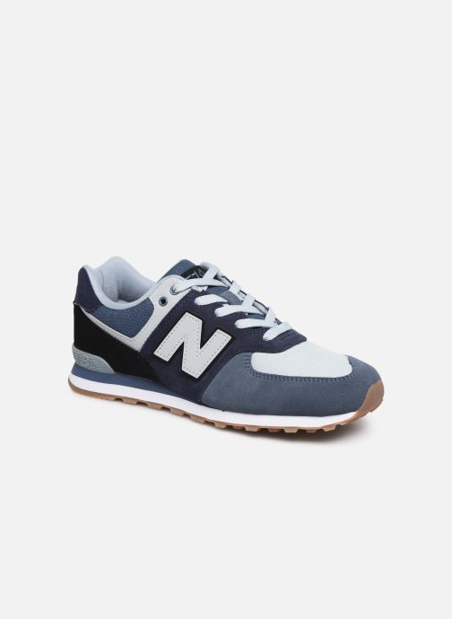 Trainers New Balance GC574 Blue detailed view/ Pair view