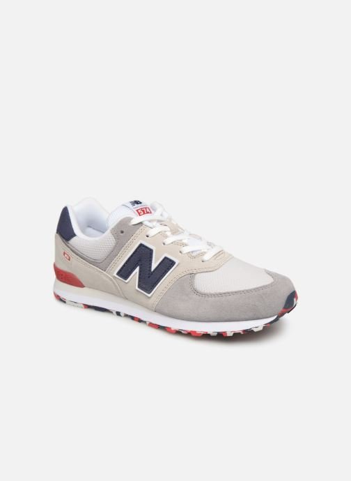 Trainers New Balance GC574 Grey detailed view/ Pair view