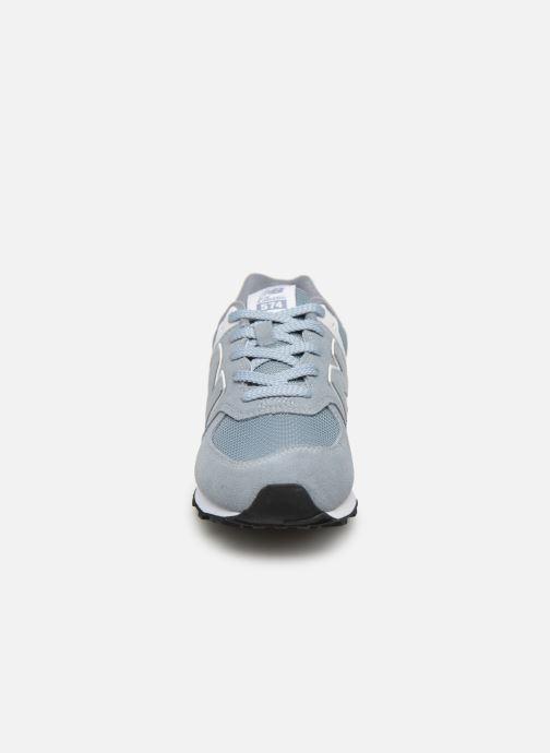 Baskets New Balance GC574 Gris vue portées chaussures