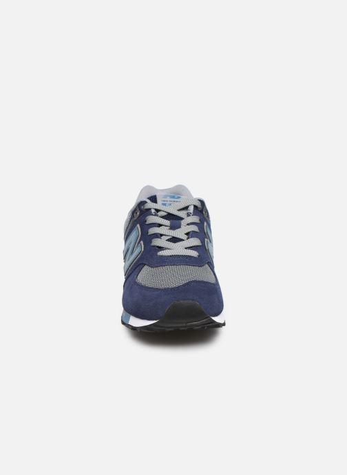 Baskets New Balance GC574 Bleu vue portées chaussures
