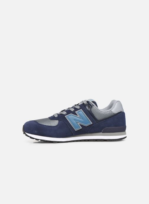 Baskets New Balance GC574 GV Bleu vue face