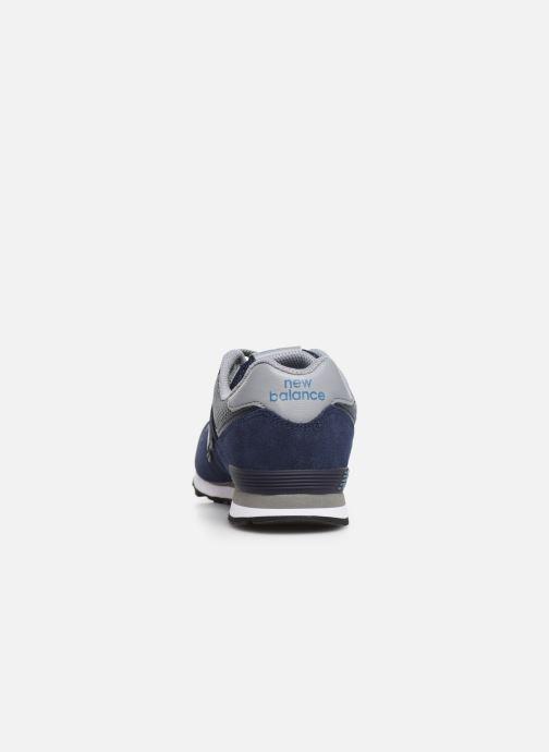 Baskets New Balance GC574 Bleu vue droite