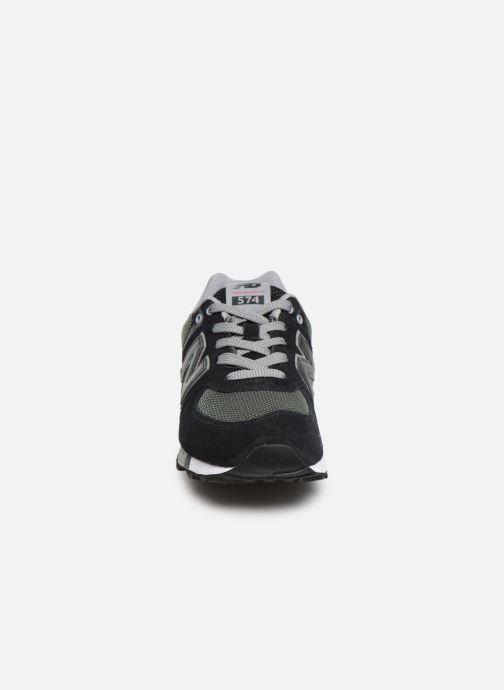 Baskets New Balance GC574 GV Noir vue portées chaussures
