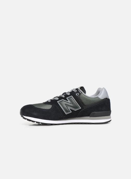 Sneakers New Balance GC574 GV Nero immagine frontale