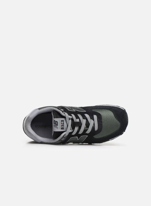 Sneakers New Balance GC574 GV Nero immagine sinistra