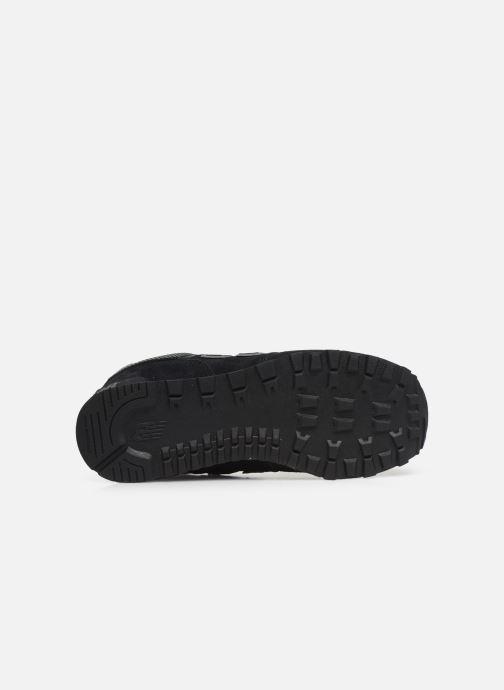 Sneakers New Balance GC574 GV Nero immagine dall'alto