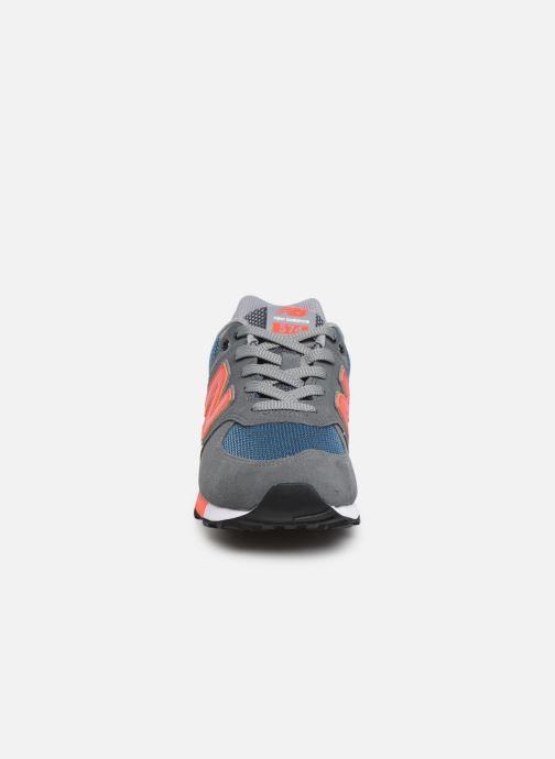 Baskets New Balance GC574 GV Gris vue portées chaussures