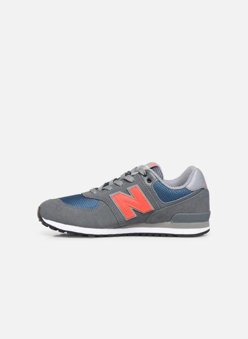 Sneakers New Balance GC574 GV Grigio immagine frontale